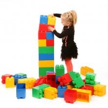 Конструктор «Мега Lego» 45 деталей.