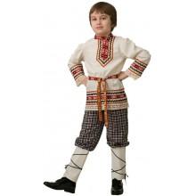 Рубаха с поясом славянская