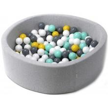 Сухой бассейн диаметр 100см с шарами 200 шт